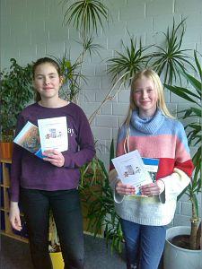 Erfolge beim Französisch-Vorlesewettbewerb