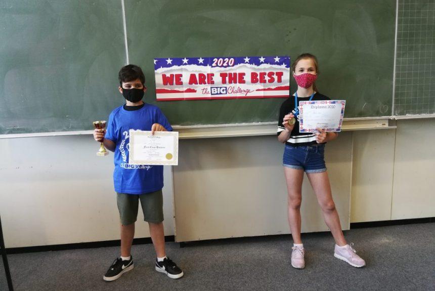 KANT Schüler erfolgreich beim Big Challenge 2020
