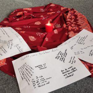Andacht im Religionsunterricht der 5. Klasse: Stärkung und Zuspruch vor dem Weihnachtsfest