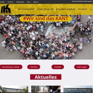 Das KANT präsentiert: Neuer Internetauftritt
