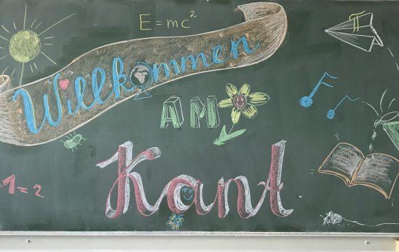 Willkommen am KANT – Wir begrüßen unsere 108 neuen Schülerinnen und Schüler der 5. Klassen