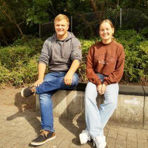 Die Schülervertretung (SV) wählt Eva Krampe zur Schülersprecherin und Jannik Lange zum stellvertretenden Schülersprecher