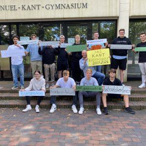 Das KANT wieder als Europaschule rezertifiziert