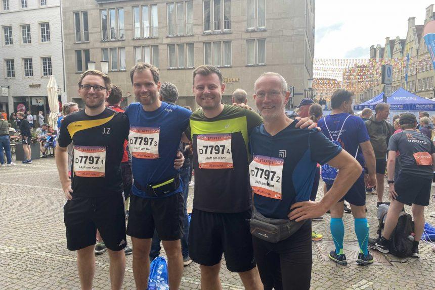 Münster-Staffelmarathon: Es läuft (wieder) am KANT!